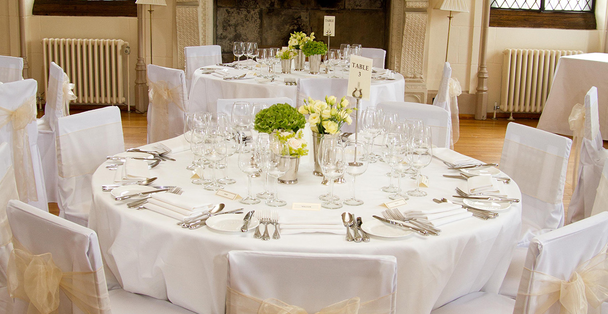 Wedding Table in Yorkshire