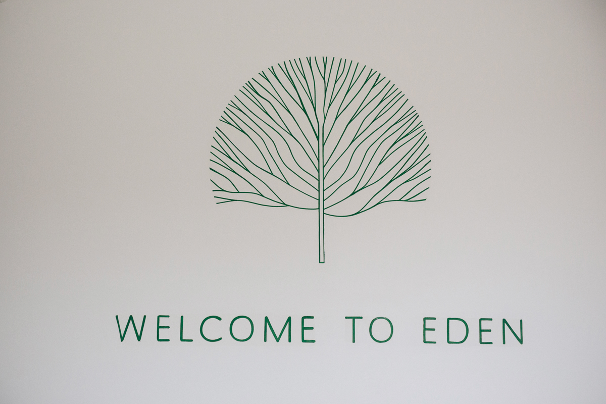 Welcome to eden sign